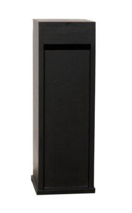 Blauwsteen brievenbus zwarte Model 62